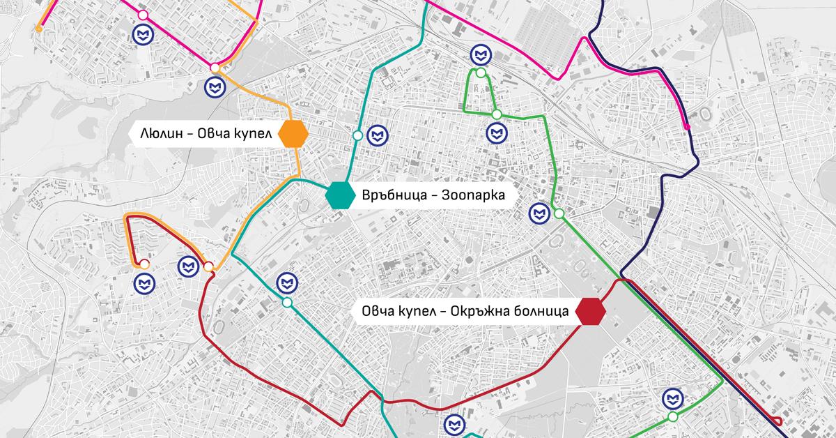 I.2. Експресни, довозващи и квартални линии