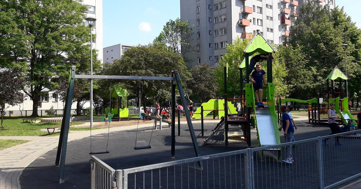 Ново междублоково пространство в Люлин VI преобразява градската среда