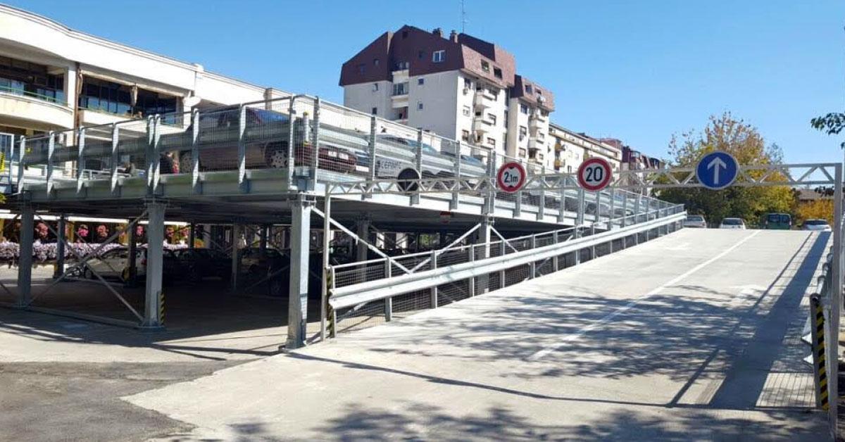 Нов монтажен паркинг решава хаоса в Младост IV