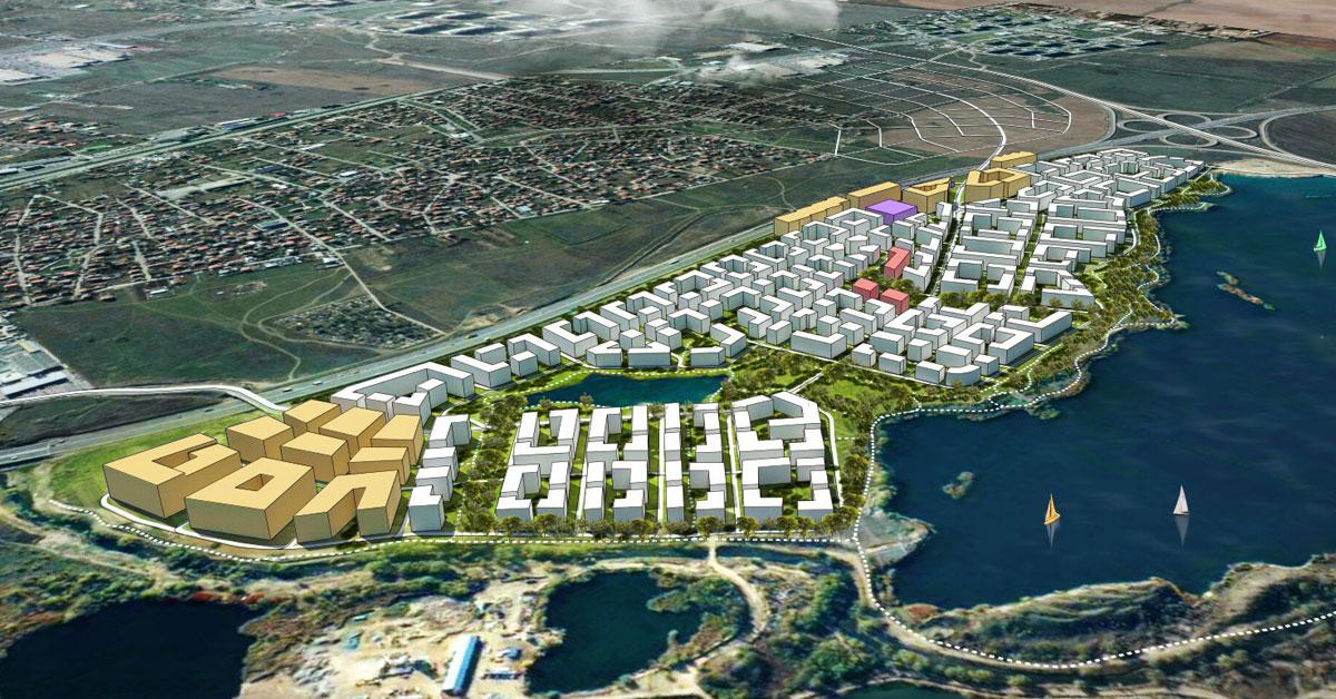 IV.3. Устойчиво развитие на града в нови територии