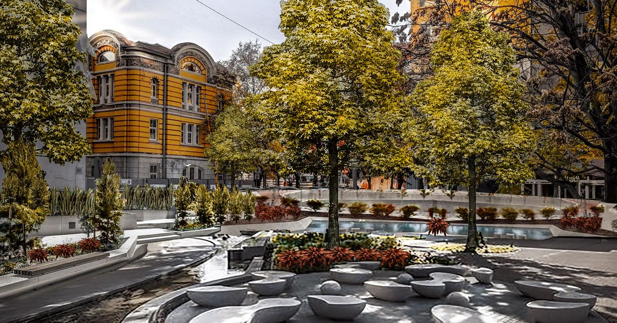 I.2. Площади и малки градски оазиси