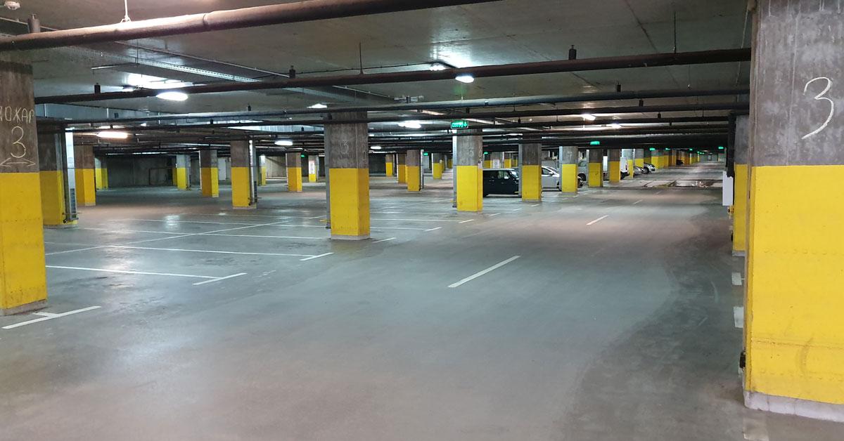 Подземен паркинг в центъра на София
