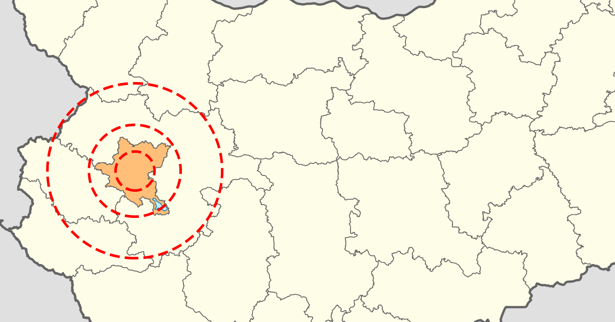 VII.2. Тарифни зони за пътуване в Софийската агломерация