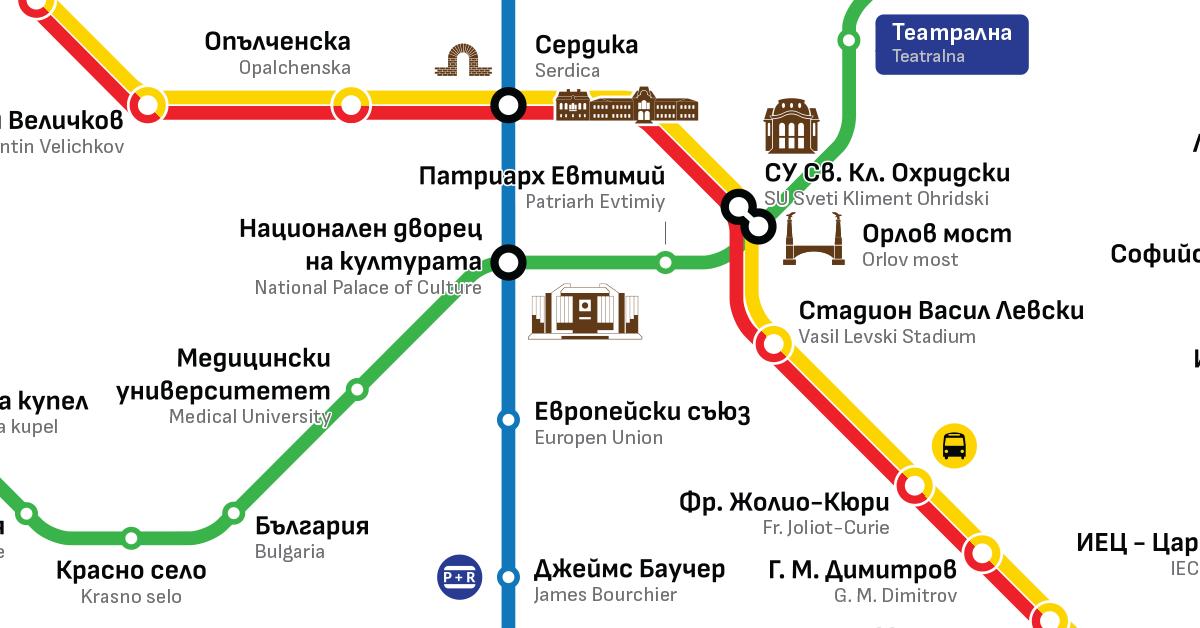 VI.5. Разумно развитие на метромрежата