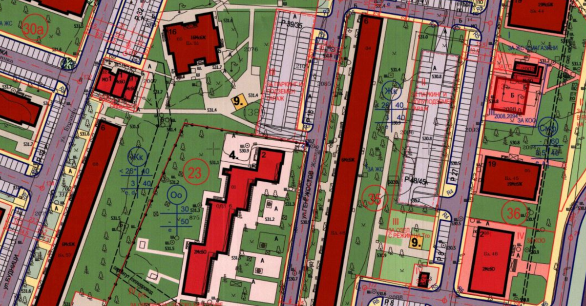 IV. Управление на територията и градско планиране